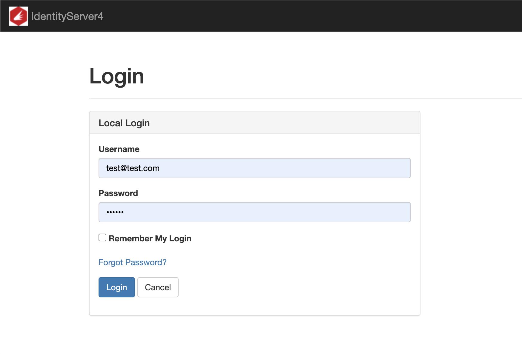 Online Demo Login